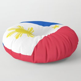 Philippines flag Floor Pillow