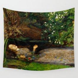 "John Everett Millais ""Ophelia"" Wall Tapestry"