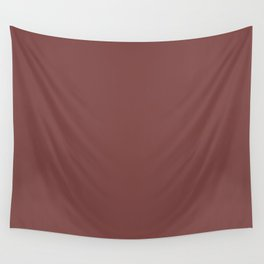 Spiced Apple | Pantone Fashion Color Spring : Summer 2018 | London Solid Color Wall Tapestry