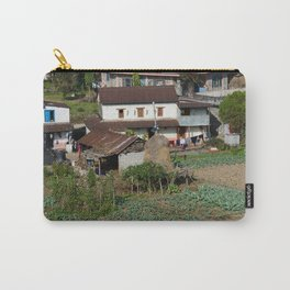 EDGE OF TOWN POKHARA NEIGHBORHOOD NEPAL Carry-All Pouch