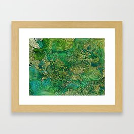 The Cascades Framed Art Print