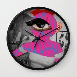 SiLuEtte 3 woman Wall Clock