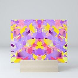 Violet violent Mini Art Print