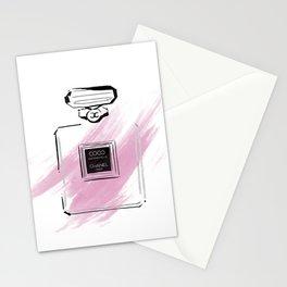 Purple perfume #3 Stationery Cards