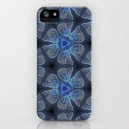 Shining Blue Butterflies iPhone Case