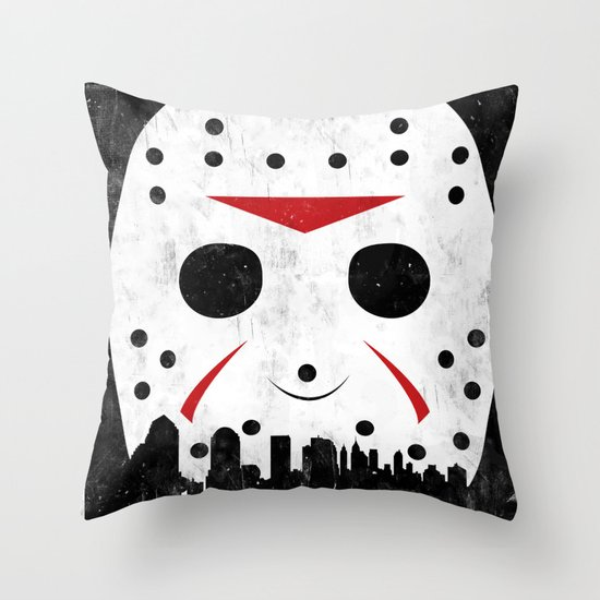 Friday The 13th Part VIII Throw Pillow