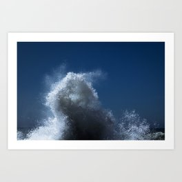 Abstract Waves no. 1 Art Print