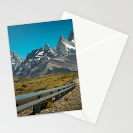 Road to Fitz Roy Stationery Cards