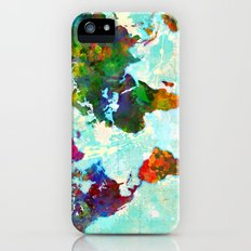 World Map - 1 iPhone (5, 5s) Slim Case