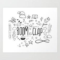 BOOM CLAP Art Print