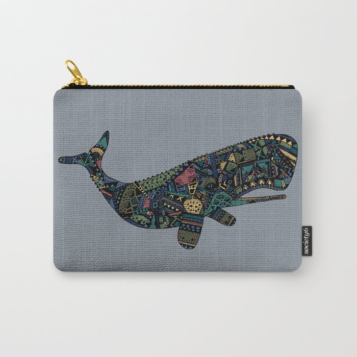 Shafted Whale Carry-All Pouch