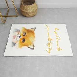 The Quick Brown Fox Rug