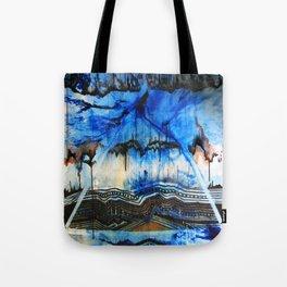 Blue Note Fire Tote Bag