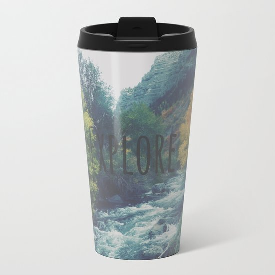 Explore Metal Travel Mug