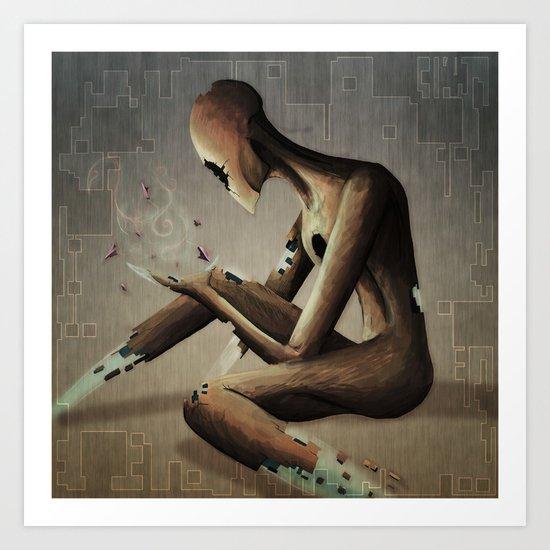 The Disintegration of God Art Print