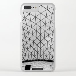 Architectural Structure Clear iPhone Case