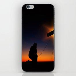 Humility iPhone Skin