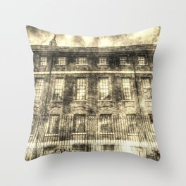The Chapter House London Vintage Throw Pillow