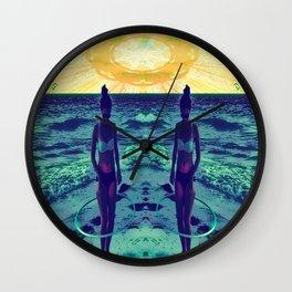 Mandala Beach Wall Clock