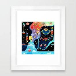 Dreamer's Peak Framed Art Print