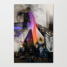 Meet me in my smooth city Canvas Print