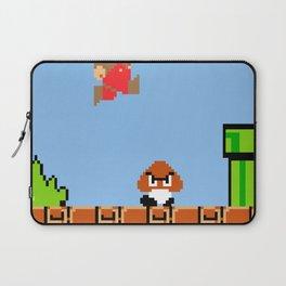 Minion's Last Rites: Mario's Goomba Laptop Sleeve