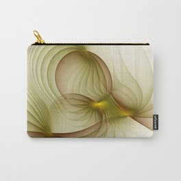 Precious Metal, Abstract Fractal Art Carry-All Pouch