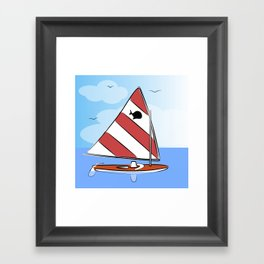 Sunfish Framed Art Print