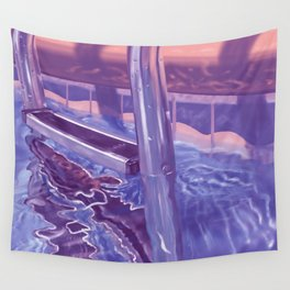 Too Cold For Swimming Wall Tapestry