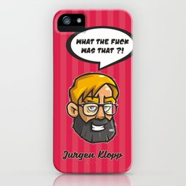 Jurgen Klopp iPhone Case