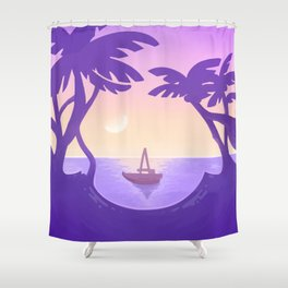 Sirena Summer Shower Curtain