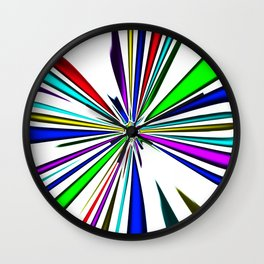 butterfly clown Wall Clock