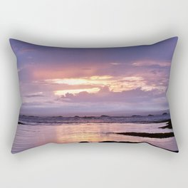 Misty Sunset Rectangular Pillow