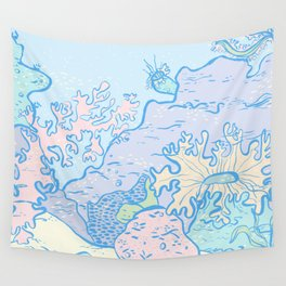 Sea Scene Wall Tapestry