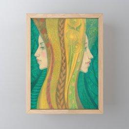 Summer / Dryads Framed Mini Art Print