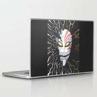bleach Laptop & iPad Skins featuring Bleach Hollow Mask by MadameAce