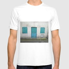 House in Honfleur, France MEDIUM Mens Fitted Tee White