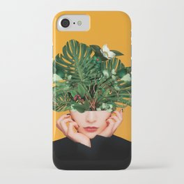 Lady Flowers || iPhone Case