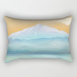 Sunrise Fuji Mount Rectangular Pillow