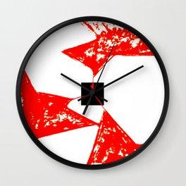 La Ruptura de la Caja Negra Wall Clock