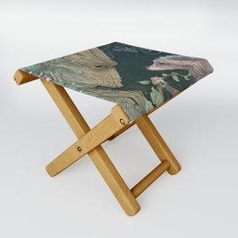 We Are Grt Folding Stool