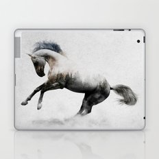White Stallion Laptop & iPad Skin