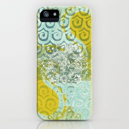 Monoprint 8 iPhone Case