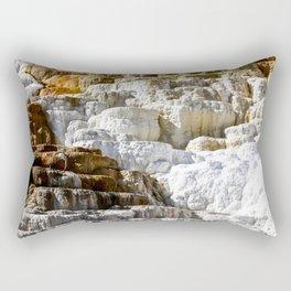 Yellowstone Salt Flat Rectangular Pillow