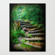 Follow Me to an Adventure Canvas Print