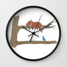 Upstairs  Wall Clock