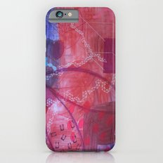 Rouge abstract iPhone 6s Slim Case