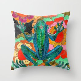 Prince of Lost Lakes Throw Pillow