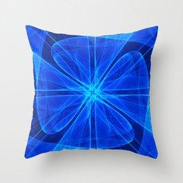 Tulles Propeller Computer Art Throw Pillow
