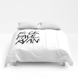 F(IUD)ck Paul Ryan Comforters